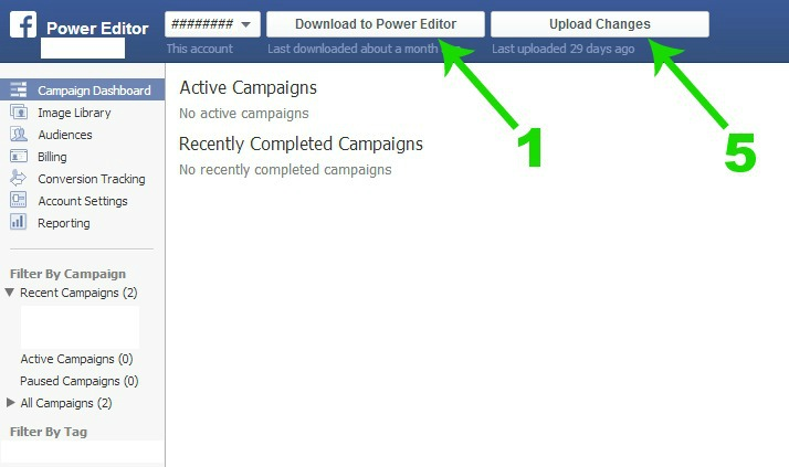 Facebook Power Editor : A Quick Crash Course