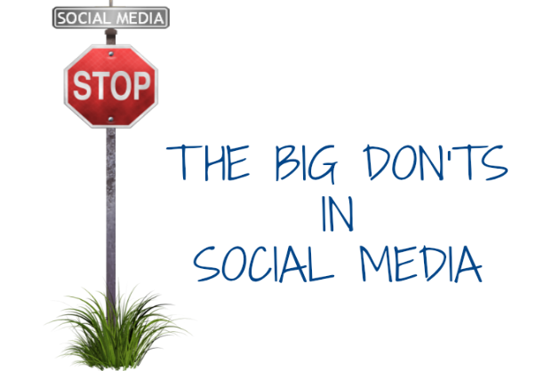 Top 5 Social Media Don'ts